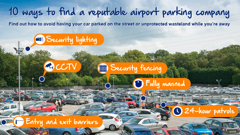 Some of the ingredients for perfect airport parking