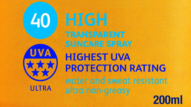 Check both the SPF factor and UVA star rating